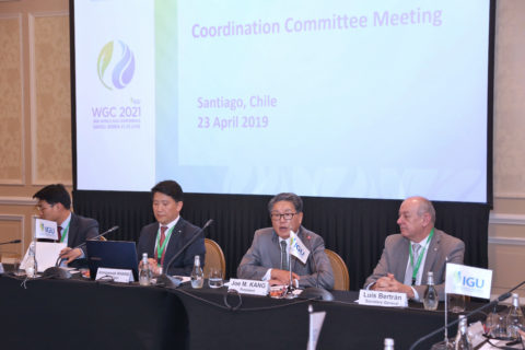 IGU Coordination Committee Meeting, Santiago